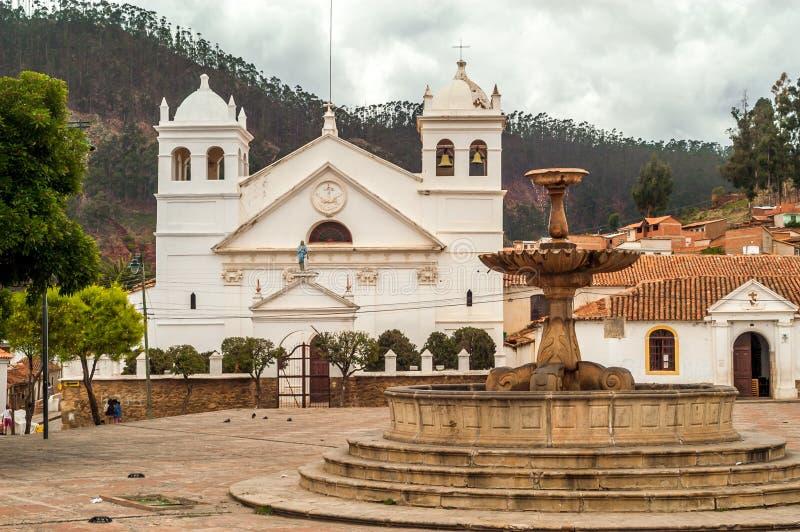 La Recoleta - Sucre imagenes de archivo