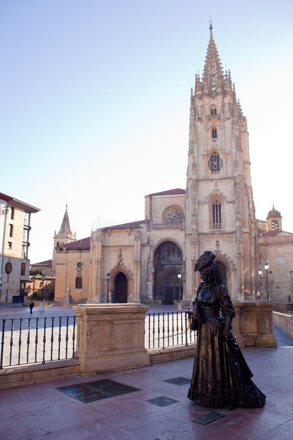 La Regenta, Oviedo royalty-vrije stock afbeeldingen