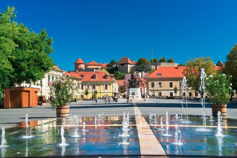 La región hermosa del vino de Eger en Hungría imágenes de archivo libres de regalías