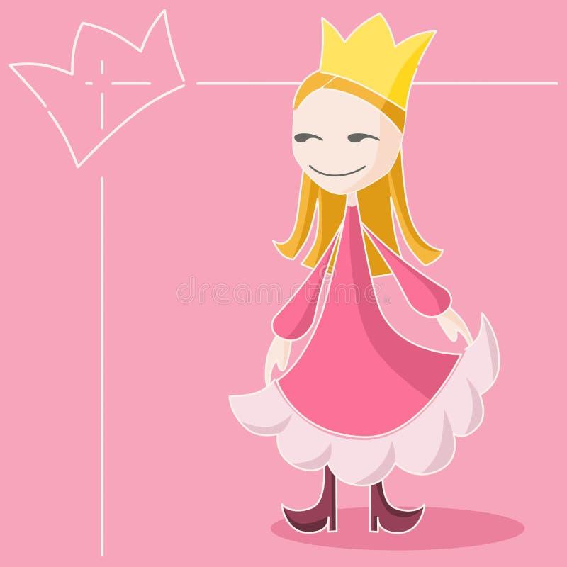 Download La regina dentellare illustrazione di stock. Illustrazione di signora - 7324507