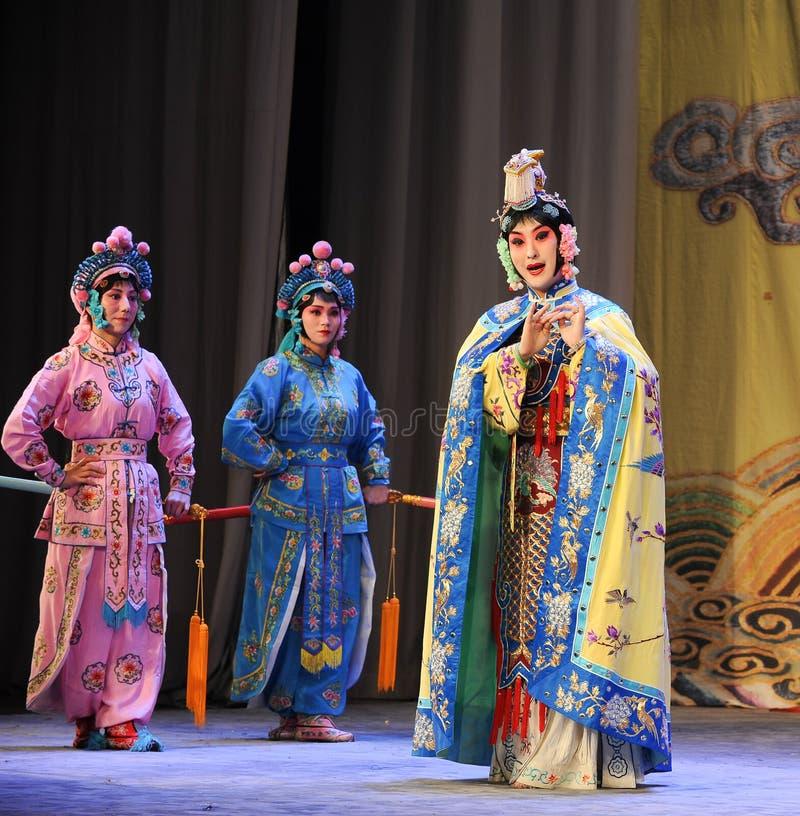 La regina e l'opera didomestica-Pechino: Addio al mio concubine fotografie stock