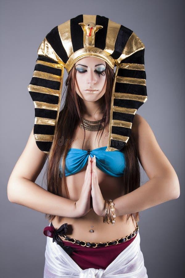 La regina egiziana cleopatra fotografie stock libere da diritti
