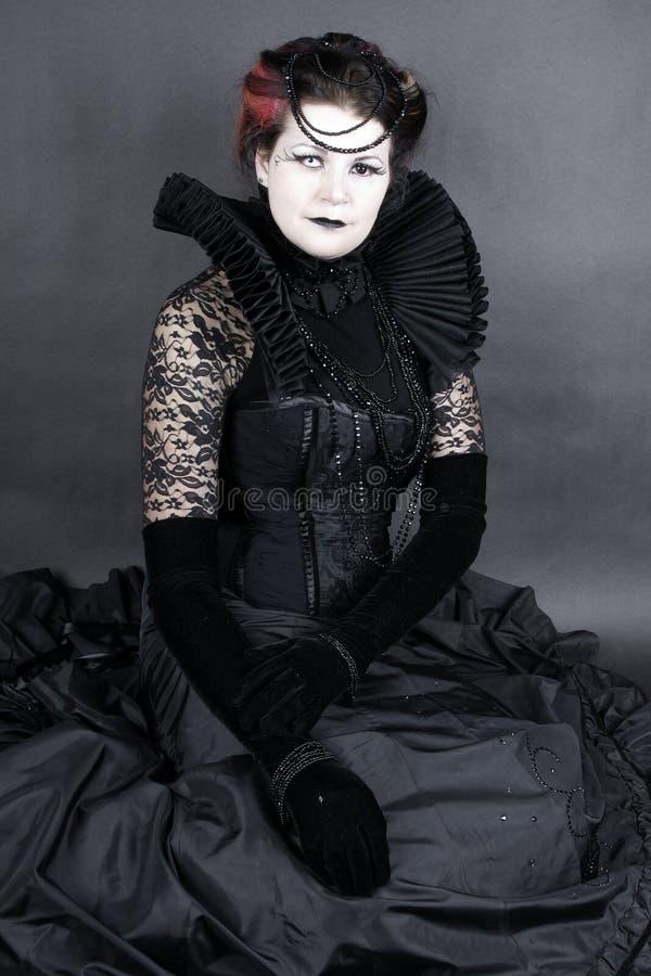 La regina scura fotografia stock