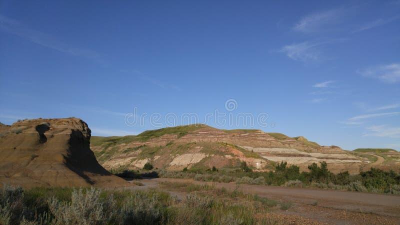 La regione dei menagrami di Alberta fotografia stock