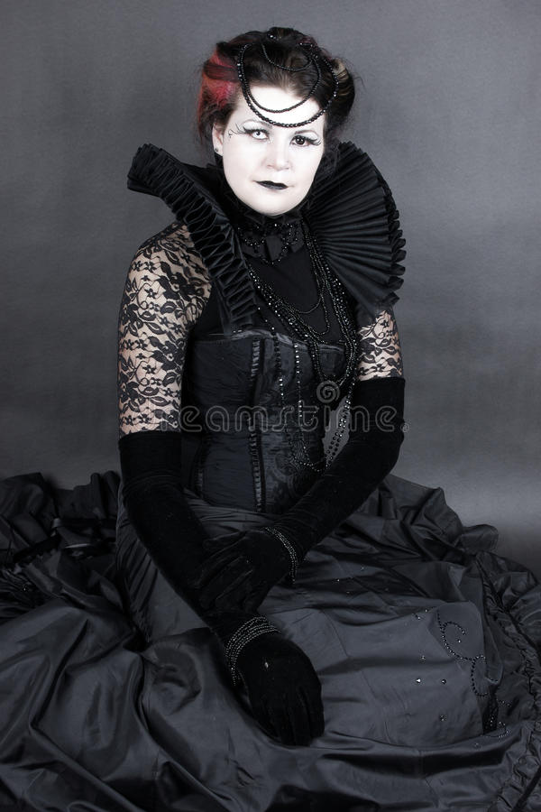 La reina oscura foto de archivo