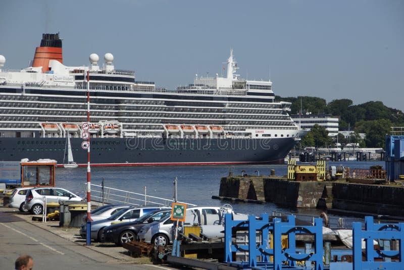 La reine à Kiel photos stock