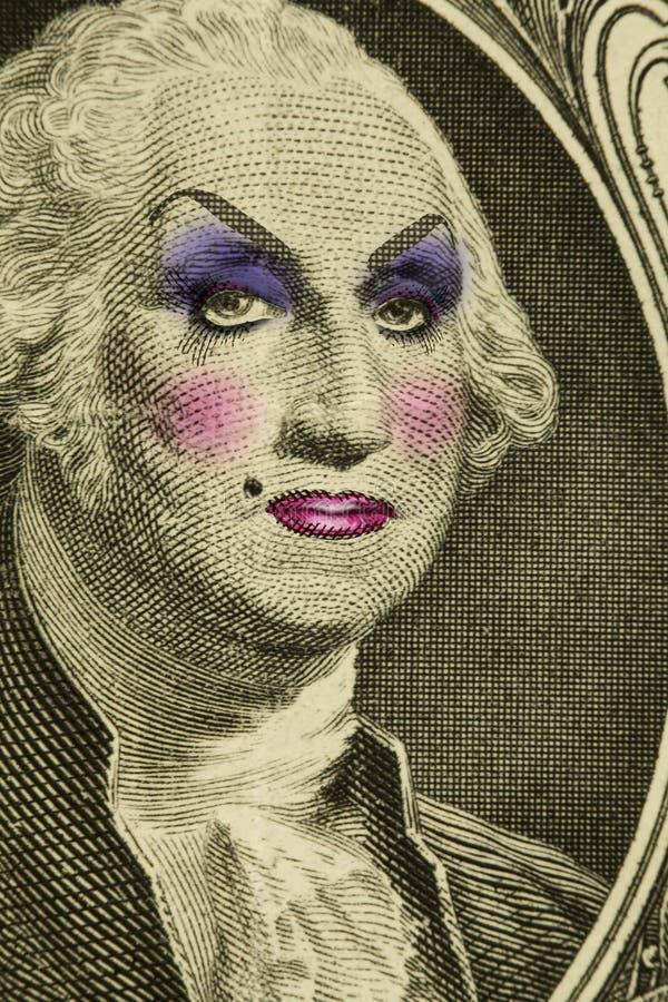 La Reine d'entrave George Washington photographie stock