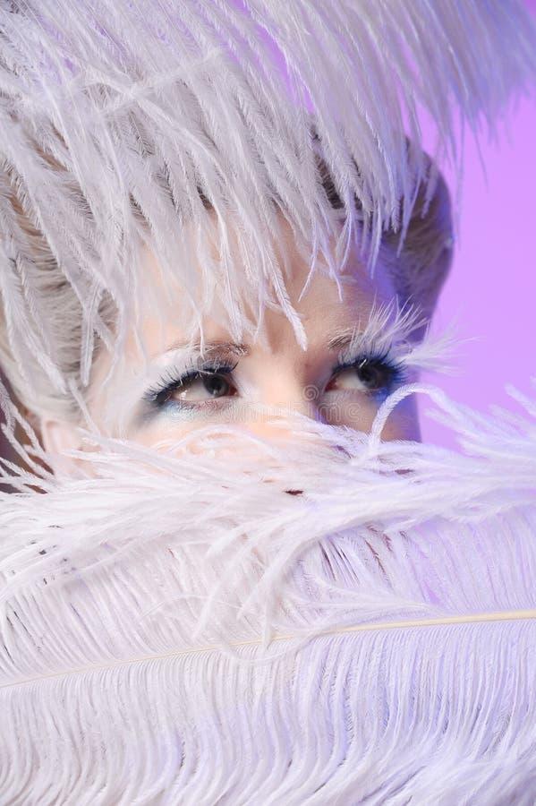 La reine de neige photographie stock libre de droits