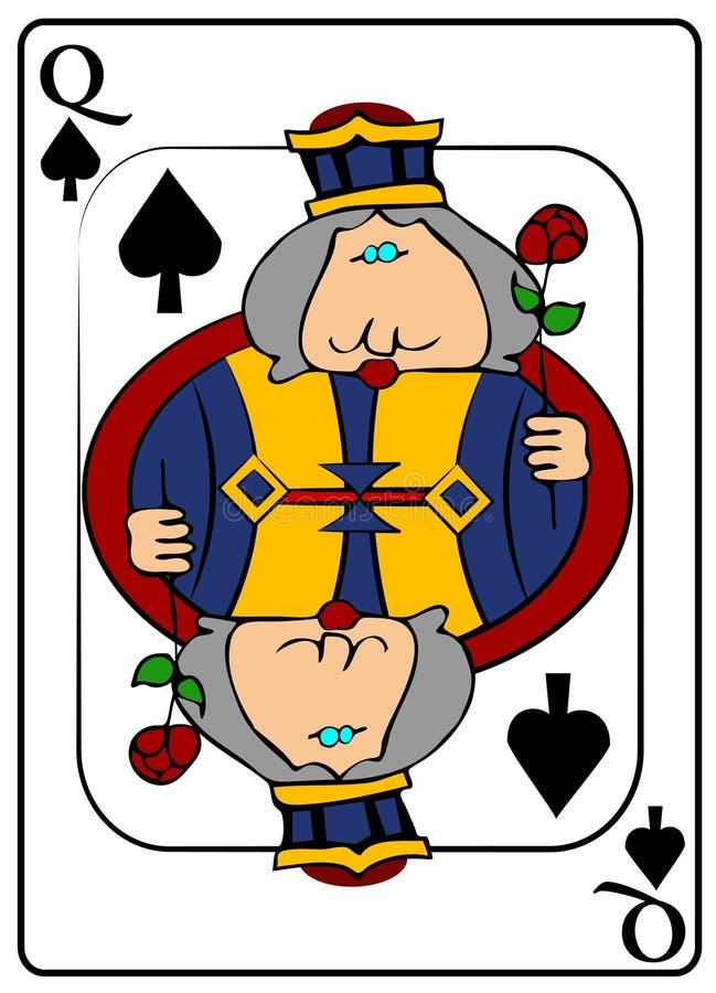 La Reine des cosses illustration de vecteur