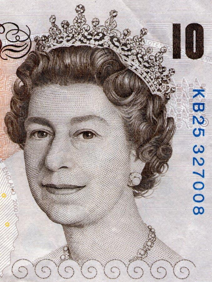 La Reine Elizabeth image libre de droits