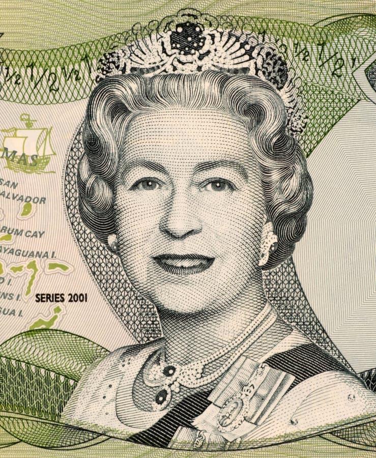 La Reine Elizabeth II photo libre de droits
