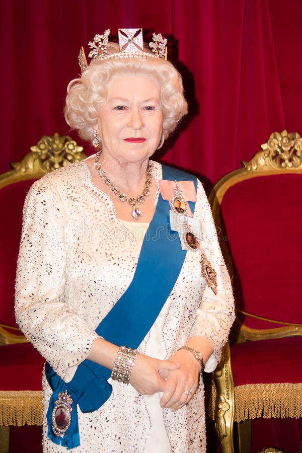 La Reine Elizabeth II photo stock