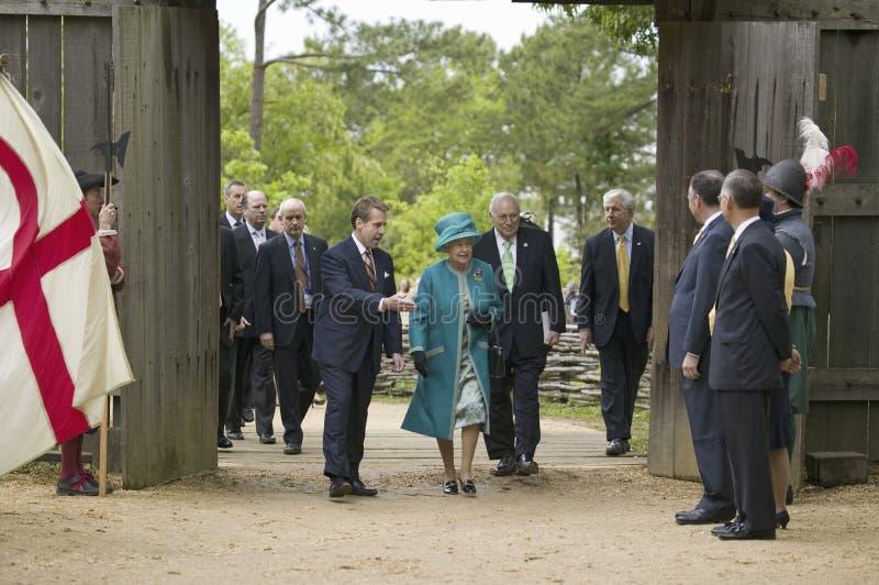 La Reine Elizabeth II de majesté images libres de droits