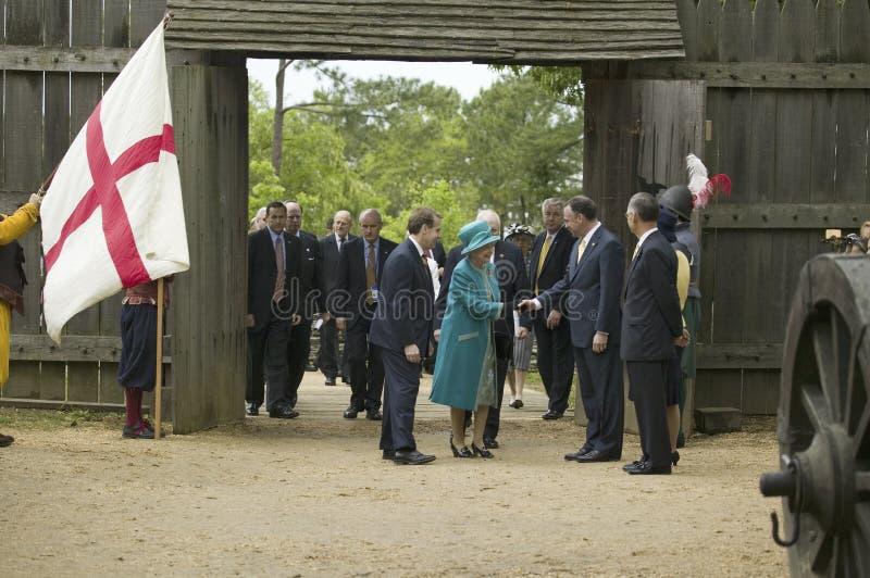 La Reine Elizabeth II de majesté photo libre de droits