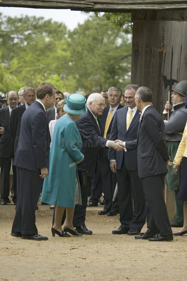 La Reine Elizabeth II de majesté image libre de droits