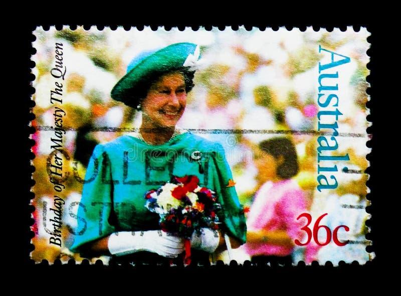 La Reine Elizabeth II, soixante-et-unième anniversaire de serie de la Reine Elizabeth II, vers 1987 photo stock