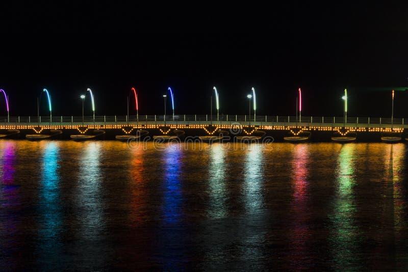 La Reine Emma Pontoon Bridge photos stock