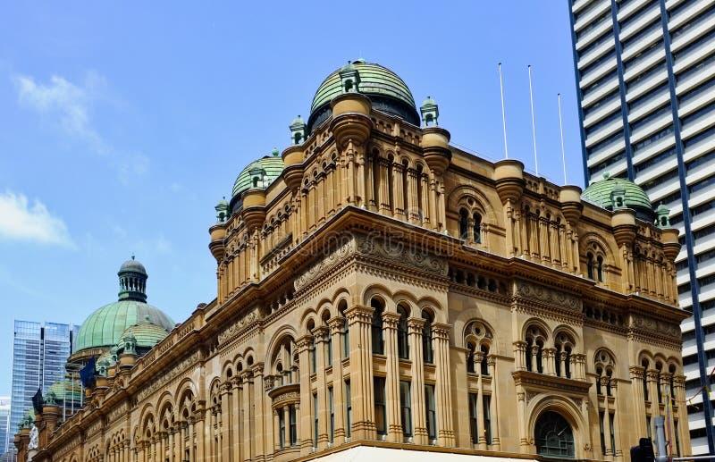 La Reine historique Victoria Building, Sydney, NSW, Australie photo libre de droits