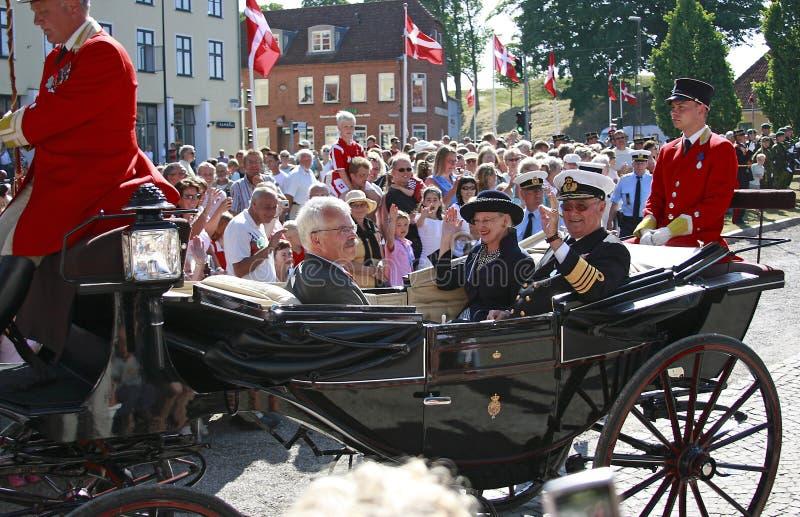 La Reine Margrethe II du Danemark photo libre de droits