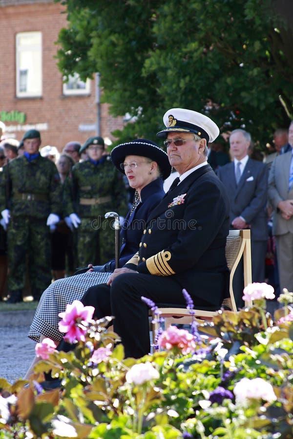 La Reine Margrethe II du Danemark photographie stock