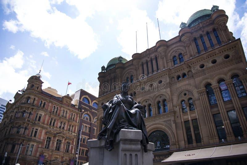 La Reine Victoria Building en Sidney image stock