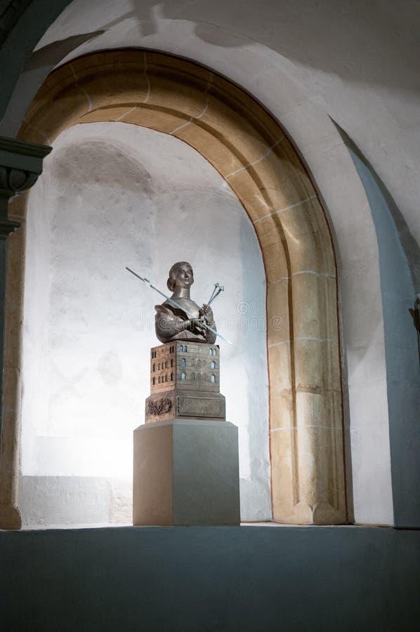 La relique principale de la Ste.Hélène dans la cathédrale de Trier images libres de droits