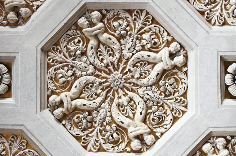 La Renaissance lacunar image stock