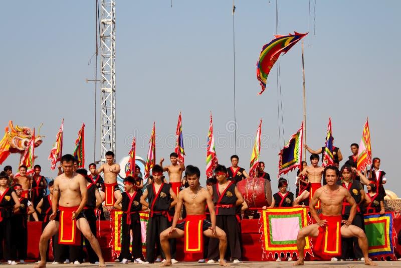 La représentation AR martiale traditionnelle de praticiens d'art martial image libre de droits
