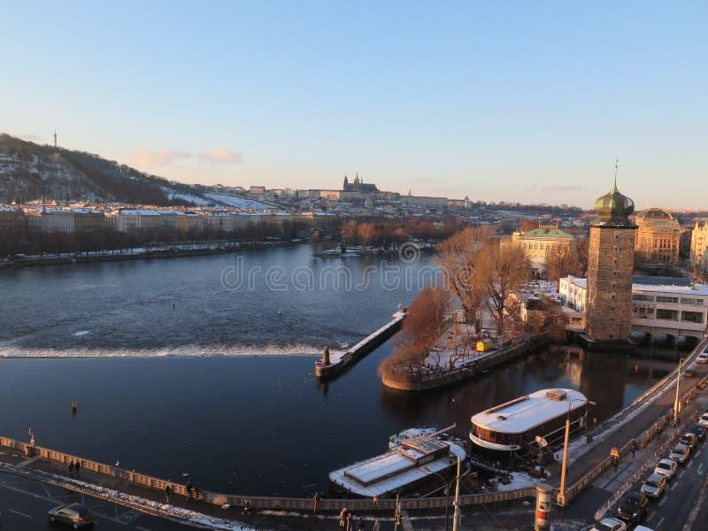 La repubblica Ceca del castel di Praga fotografie stock libere da diritti