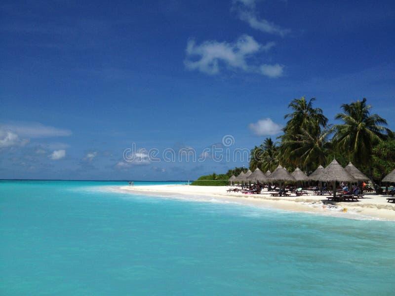La Repubblica delle Maldive immagini stock