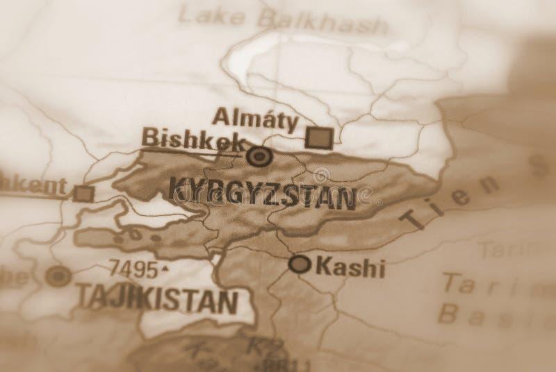 La Repubblica Kirghiza - il Kirghizistan fotografie stock