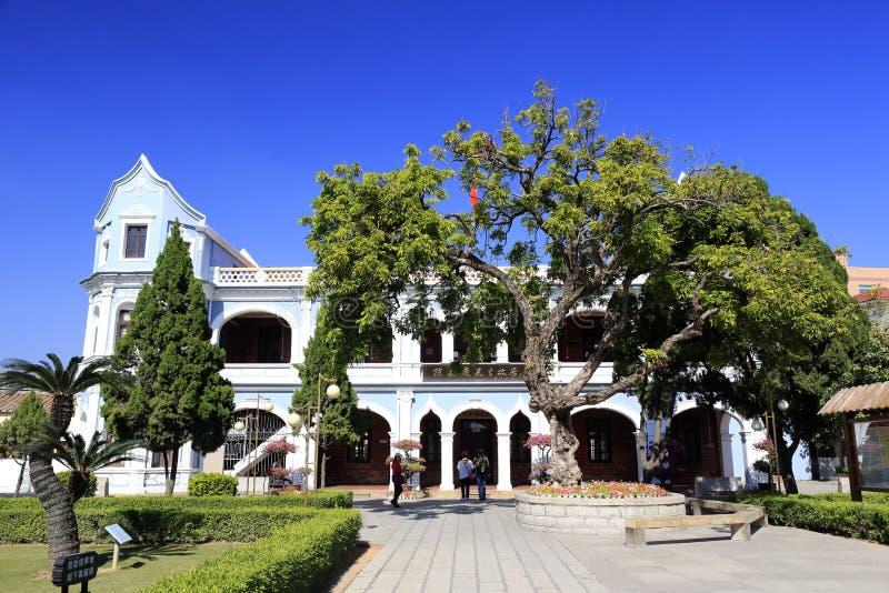 la residencia anterior de los kee del kah del moreno imagen de archivo libre de regalías