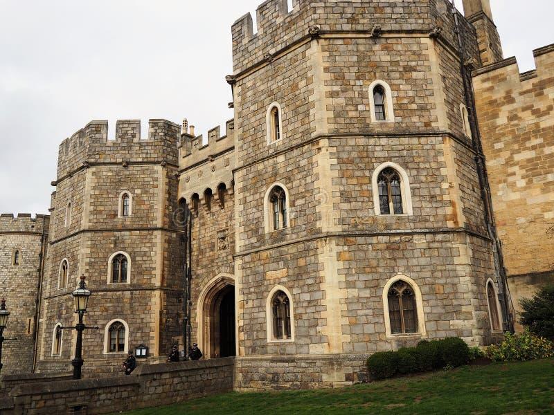 La residenza reale di Windsor Castle In Berkshire immagine stock