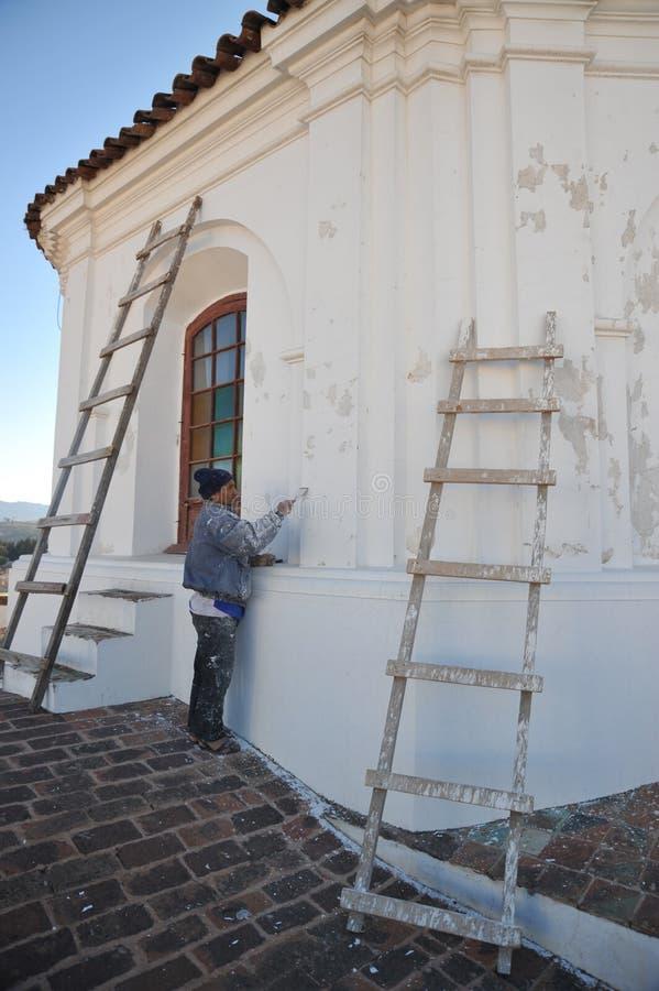 La restauración del La Recoleta del monasterio imagenes de archivo