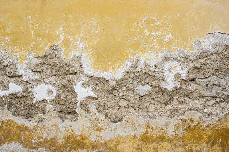 La restauration de mur de Chambre rénovent photo stock