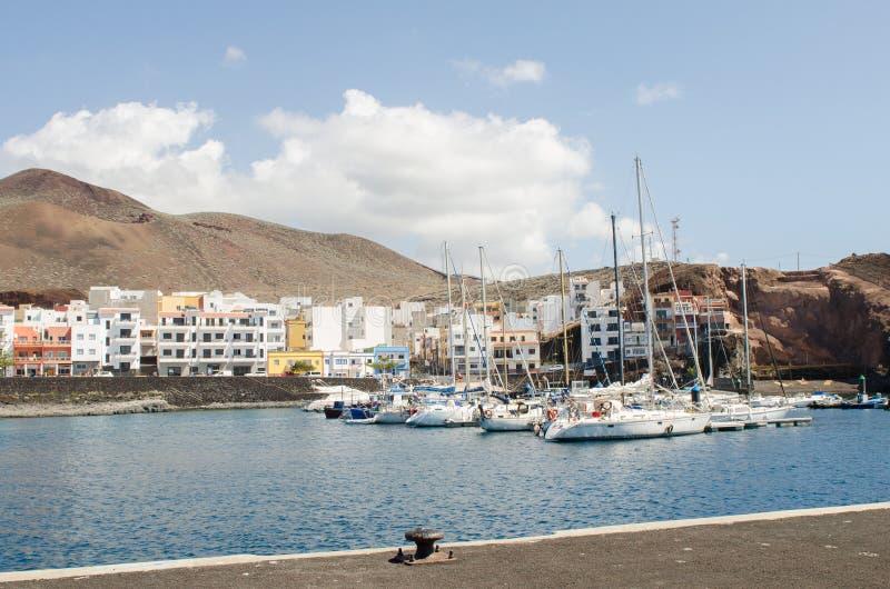 La Restinga, EL Hierro, Ilhas Canárias, Espanha foto de stock royalty free