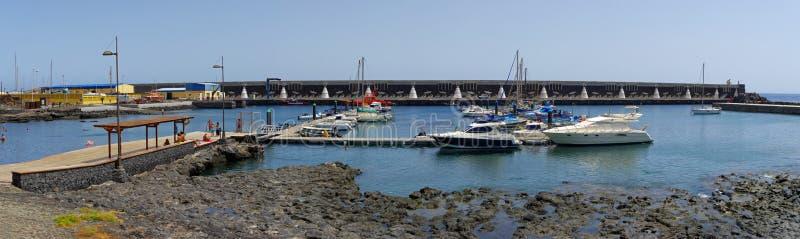 La Restinga, EL Hierro, Ilhas Canárias, Espanha fotografia de stock