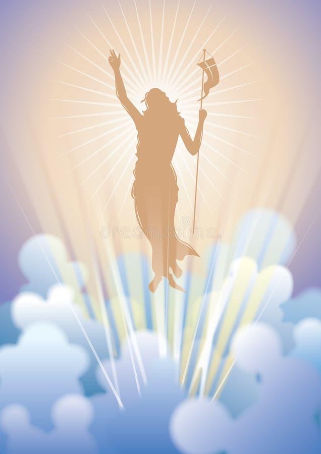 La resurrezione royalty illustrazione gratis