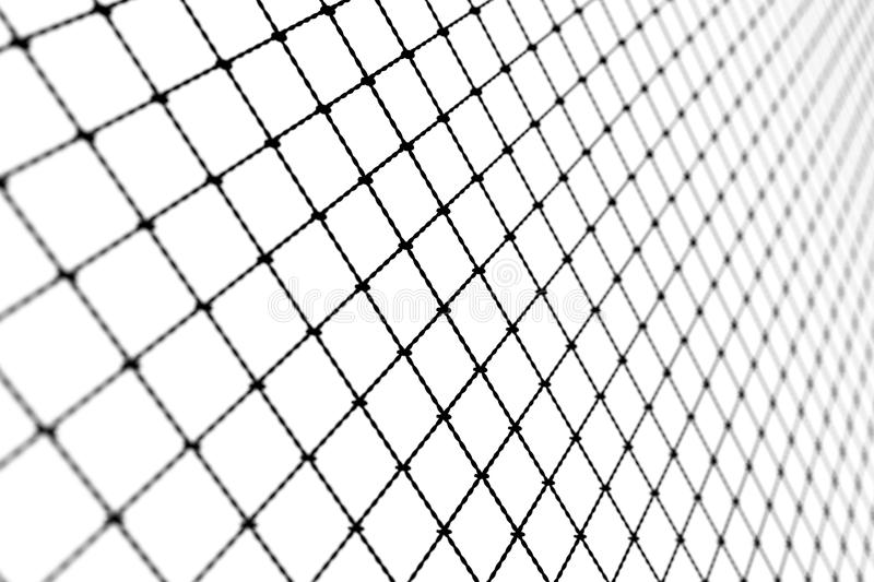La rete metallica, Alpha Network, rete, si collega fotografia stock