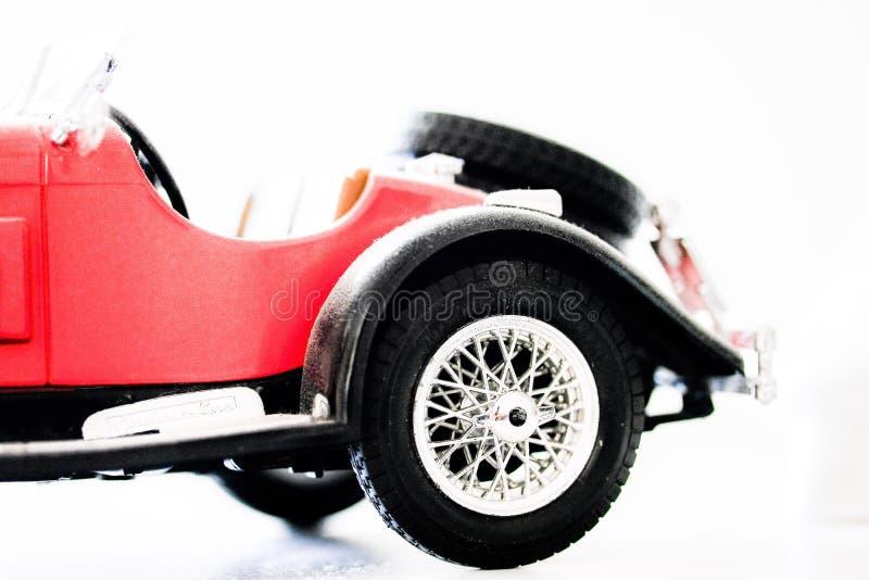 La retrovisione dell'automobile antica fotografie stock