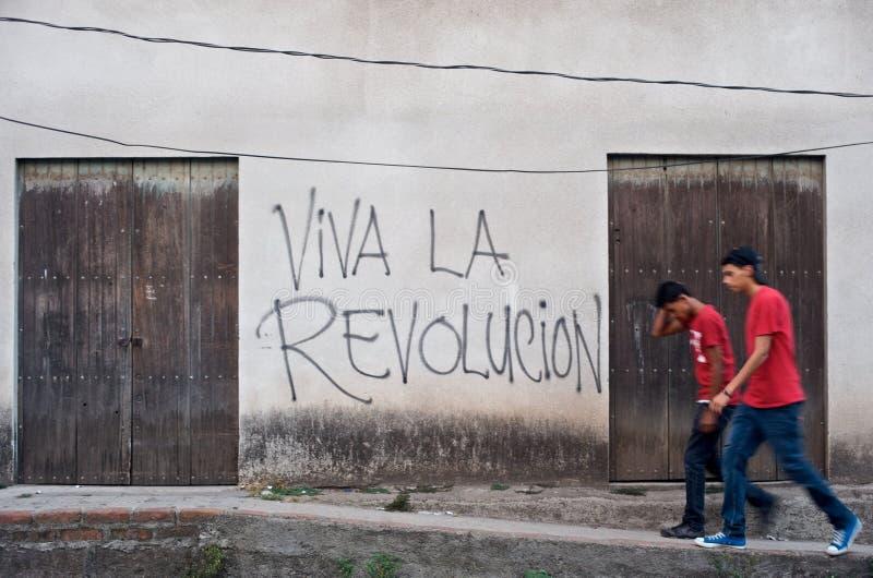 La Revolucion de Viva fotografia de stock