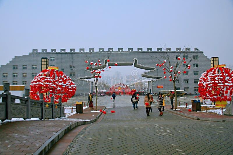 La rime d'hiver du Sui et du Tang Dynasties photos libres de droits