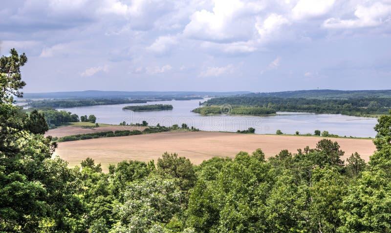 La rivière Arkansas image libre de droits