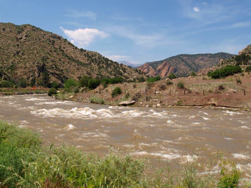 La rivière Arkansas photos stock