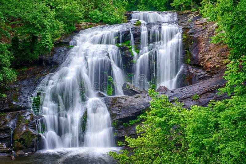 La rivière chauve tombe le Tennessee image stock