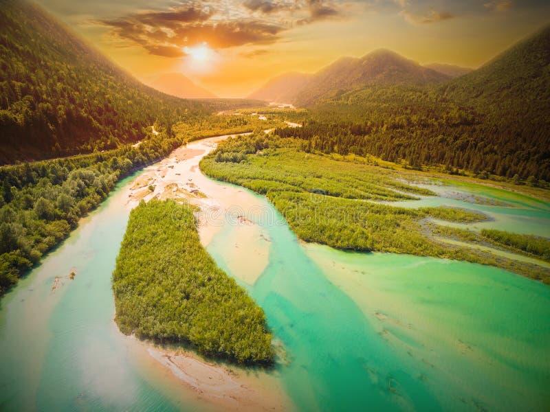 La rivière d'Isar photos stock