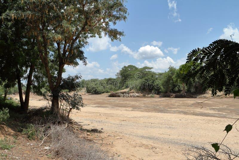 La rivière d'Omo en Ethiopie photo stock