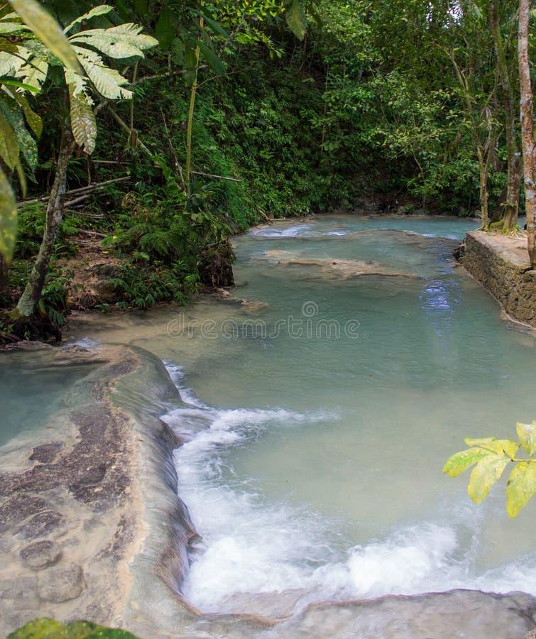 La rivière de Dunn tombe dans Ocho Rios image stock