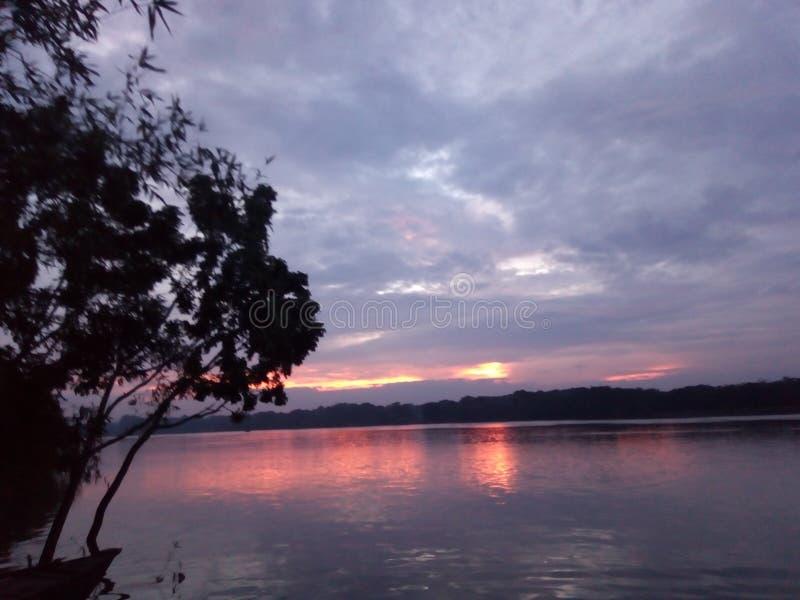La rivière de Mahanonda photographie stock