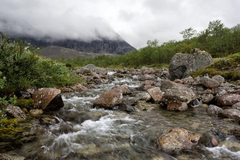 La rivière de Petrelius photographie stock